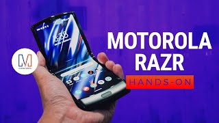 The Motorola RAZR is back! Our hands-on!