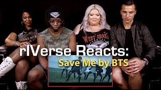 Download Lagu rIVerse Reacts: Save Me by BTS - M/V Reaction Gratis STAFABAND