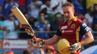 IPL 8: AB de Villiers 133 off 59 ball vs Mumbai – Amazing Moments
