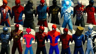 Marvel's Spider-Man | All Suits, All Costumes and All Spider-Man characters