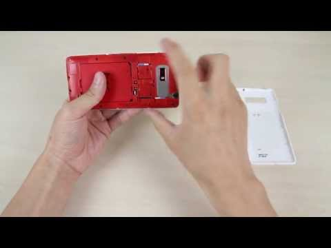 How to insert and remove the micro SIM card on HTC Desire 600 dual sim