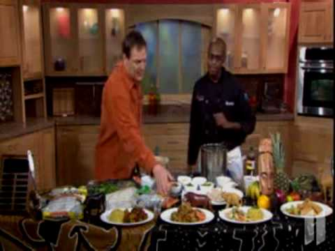 Somali Food Cooking on T.V Part Three With Jamal Hashi
