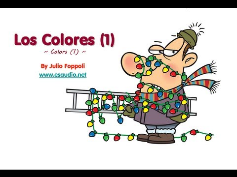 Basic Spanish Vocabulary Series: Colors Video