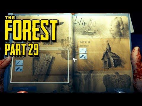 The Forest Gameplay German Story Mode - Das geheime Buch
