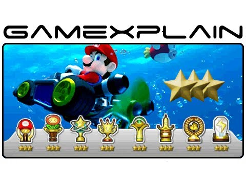 Mario Kart 7 - Perfect 3-Stars Rank Tip Guide (Nintendo 3DS)