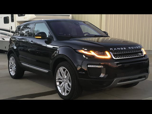 2016 Range Rover Evoque Full Review, Start Up, Exhaust ...