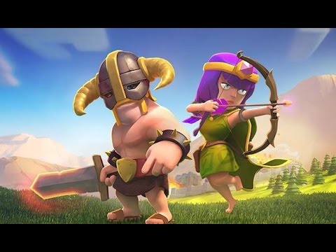 Clash of clans - barbarian level 7 & Archer level 7 ...