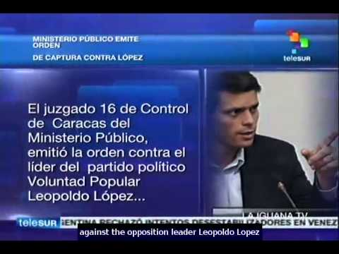 Venezuela: arrest warrant issued against opposition leader Leopold