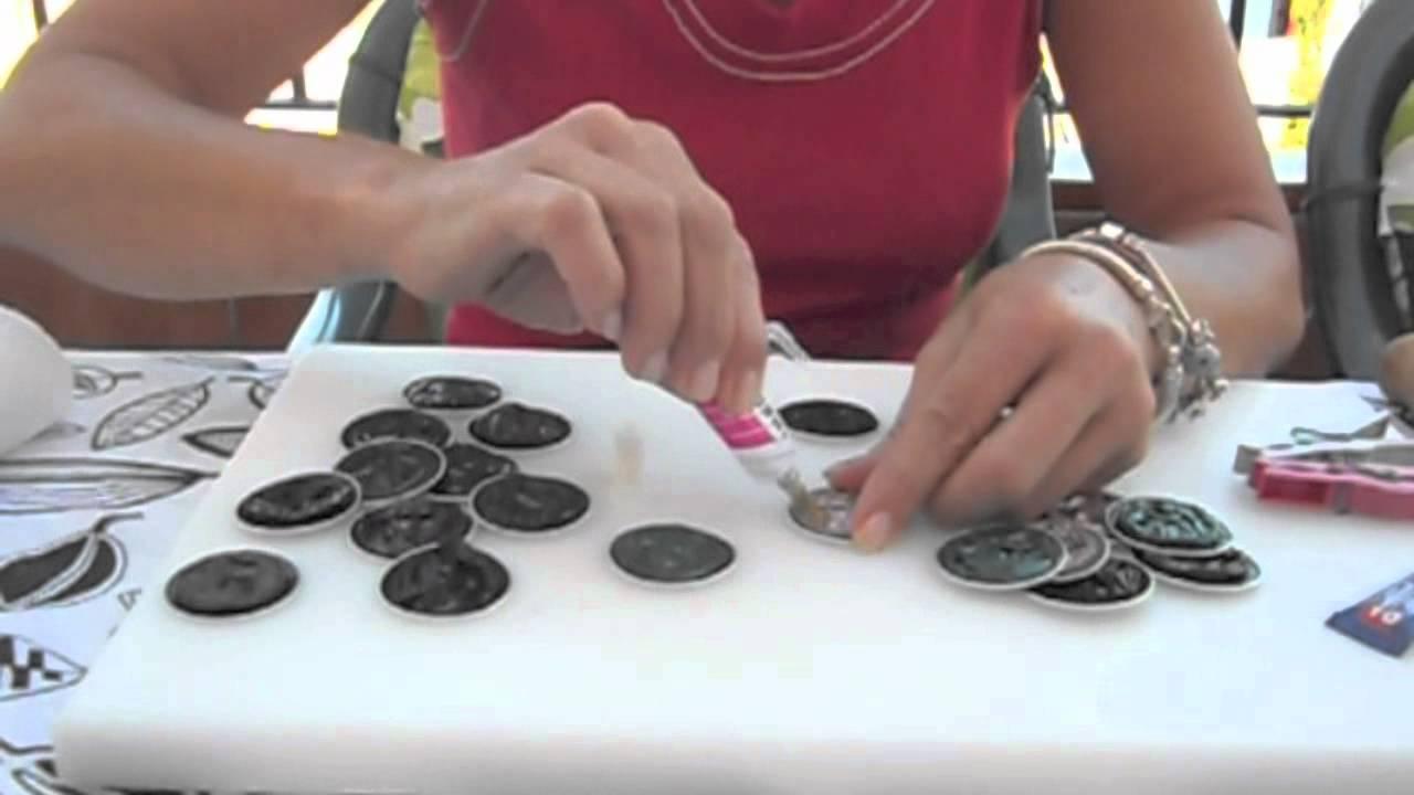 Broche con c psulas de nespresso youtube - Que hacer con capsulas nespresso ...