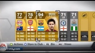 Fifa 13 - Messi Gold Pack