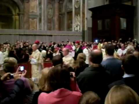 Attack on the Pope: A new video from 