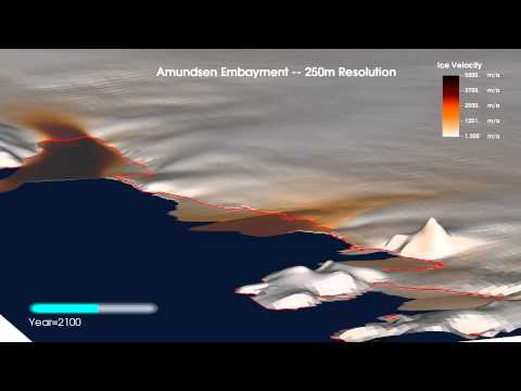 Berkeley Code Provides Unprecedentedly Detailed View of Antarctic Ice Melt