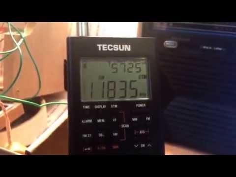 Voice of Turkey 11835 KHz broadcasting in German