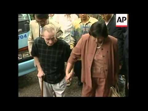 Accused US deserter visits Indonesian president