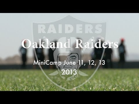 Oakland Raiders Mandatory MiniCamp - June 2013