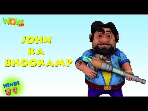 John Ka Bhookamp - Motu Patlu in Hindi WITH ENGLISH, SPANISH & FRENCH SUBTITLES