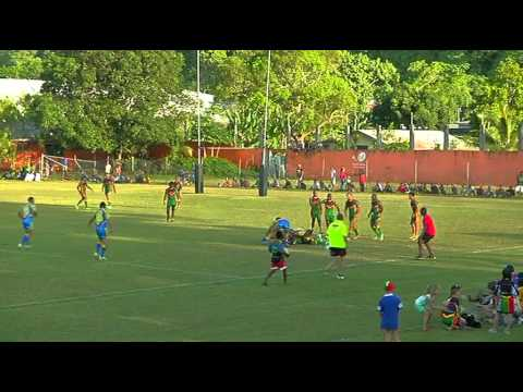 International Rugby League 2013: Niue vs Vanuatu (2nd Half/Game Analysis- Part 3)