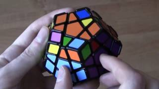 Megaminx tutorial - metoda podstawowa