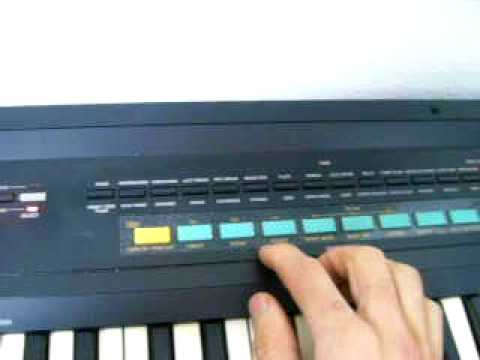 1987 CASIO Casiotone CT-460 keyboard