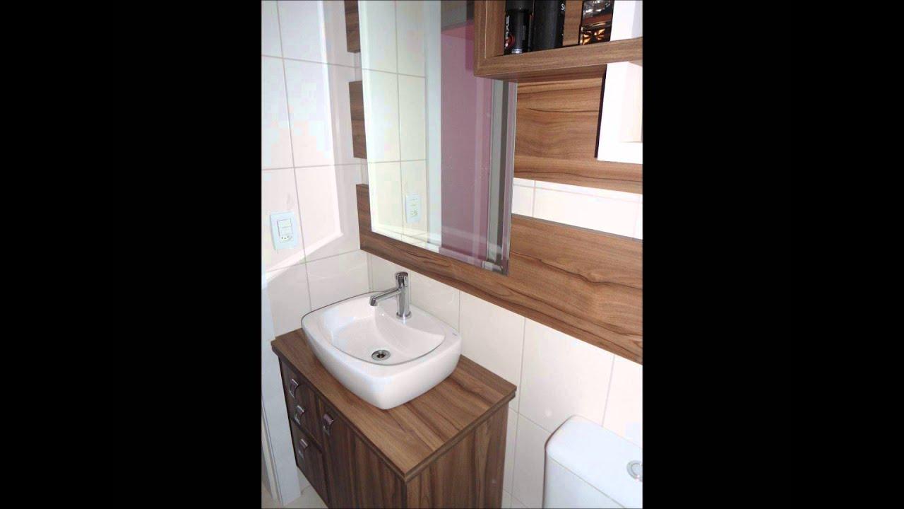 banheiros feito por Marcenaria Reis   #845D47 1440 1080