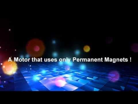 Selfrunning Free Energy Permanent Magnet Motor - The Simon Magnet Motor motor