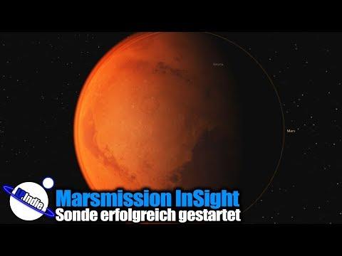 Raumfahrt News: Marsmission InSight erfolgreich gestartet