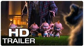 INCREDIBLES 2 Jack Jack Fight Scene Trailer (2018) Superhero Movie Trailer HD
