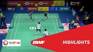 TOYOTA Thailand Open 2018 | Badminton MD - F - Highlights | BWF 2018
