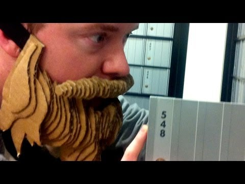 How to Make a Cardboard Beard - PITW Video