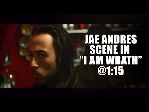 Jae Andres getting shot up, in I AM WRATH streaming vf