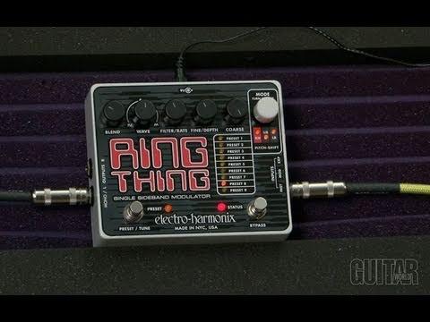 """Electro-Harmonix """"Ring Thing"""" Ring Modulator Pedal"""