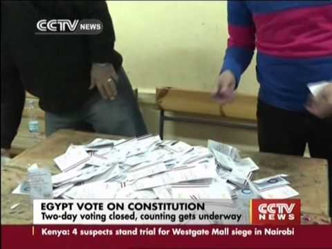 Egypt Referendum:Election Commission: Constitution approved by 98.1% voters
