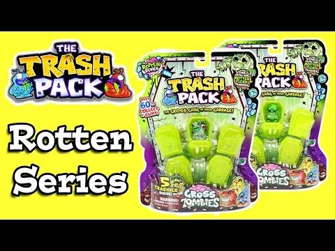 Trash Pack Rotten Series Gross Zombies 5 Packs