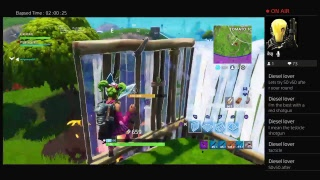 Fortnite-solo with new blockbuster outfite
