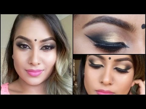 Indian Barbie Makeup Tutorial || Bollywood Glam || South African Youtuber thumbnail