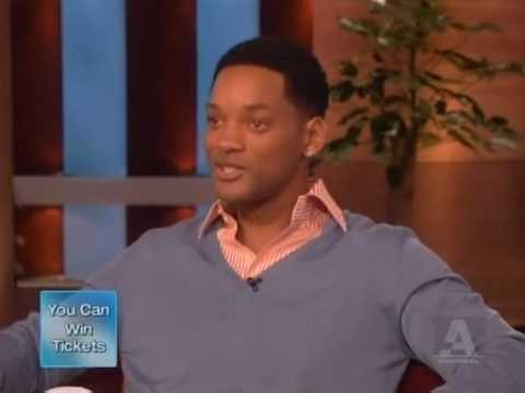 Will Smith on Ellen - Part 1