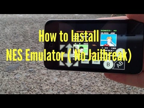 How To Install NES Emulator On iPhone iPodTouch & iPad iOS 6/7 No