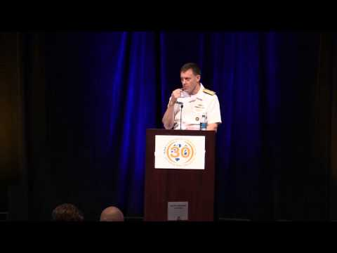 Admiral Mike Rogers addresses the ISSA International Conference 2015