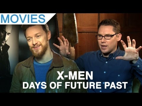 Bryan Singer and James McAvoy on X-Men: Days of Future Past