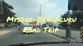 Road Trip with Hyundai Creta || Mysore-Bengaluru Express Highway