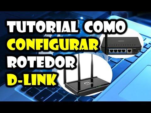 tutorial como configurar um roteador dlink