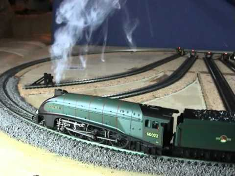 YouChoos Hornby Mallard A4 DCC Sound+Smoke+Lights