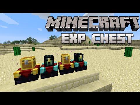 Minecraft 1.6.4/1.8 MOD - COFRES DE EXPERIENCIA - Exp Chest Mod