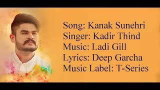 "download lagu ""kanak Sunehri"" Full Song With  ▪ Kadir Thind gratis"