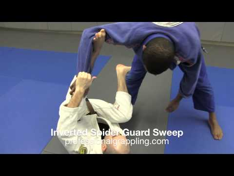 PGL Professional Grappling League - Instructional with Isaac Rivera - Inverted Spider Guard Sweep Image 1