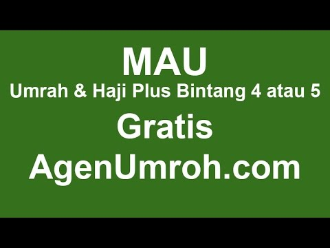 Youtube travel umroh termurah 2015
