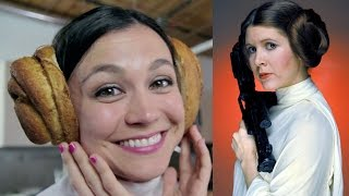 Princess Leia Cinnamon Buns from STAR WARS! Feast of Fiction S4 Ep30