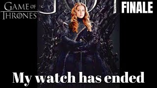 "Game of Thrones Finale ""The Iron Throne"" Recap/Reaction"