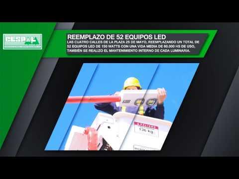 Cespal   Luminaria led Segunda Etapa