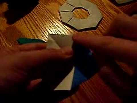 how to make a eight sided ninja star